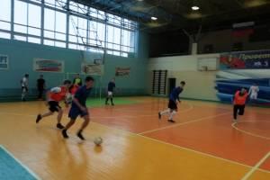 В Дятьково завершился первый круг чемпионата района по мини-футболу