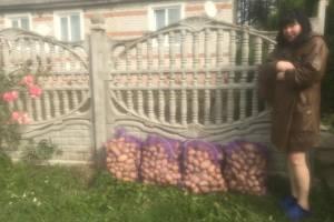 У жителей Дубровки вместе с мусором забрали мешки с картошкой