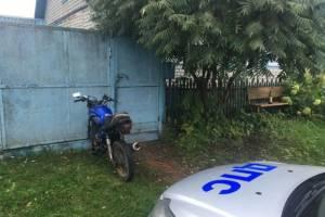 В Гордеевском районе поймали пьяного 37-летнего мотоциклиста