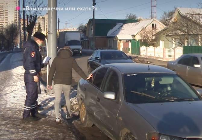 В Брянске у нелегального таксиста отобрали автомобиль