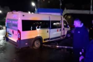 В Брянске на автовокзале произошло жуткое ДТП с маршруткой