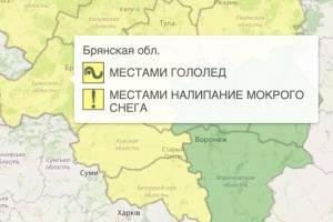 В Брянской области уровень опасности понизили до желтого
