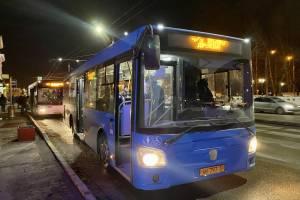 Жители второго Брянска попросили ещё один ночной автобус с вокзала