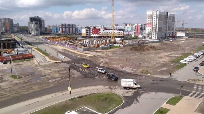 В Брянске снова развалилась дорога, ремонта которой требовал Богомаз