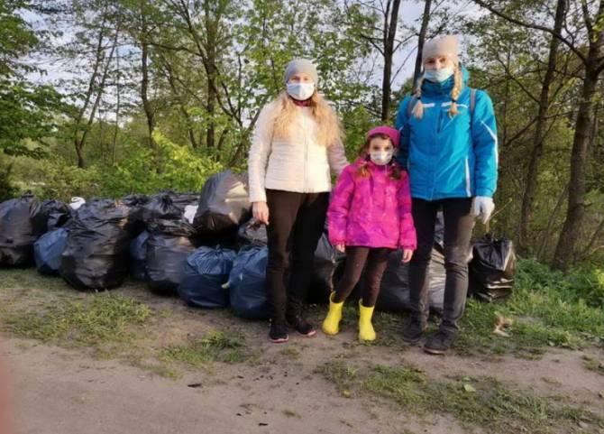 «Чистая планета» помогла брянцам  вывезти собранный на природе мусор