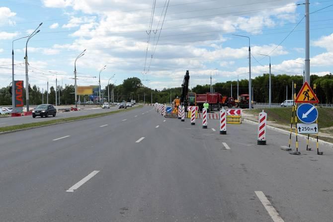 Из-за строительства кольца на проспекте Московском Брянска введут новые ограничения