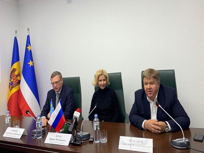 Заместитель брянского губернатора Лемешов посетил Гагаузию