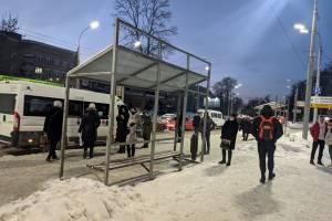 В Брянске оголили хлипкие остановки перед Курганом Бессмертия