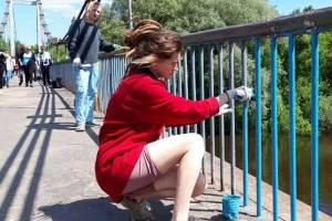 В Брянске признание в любви Кристине на Голубом мосту оказалось неуместным
