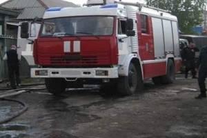 В Клинцовском районе сгорела частная баня