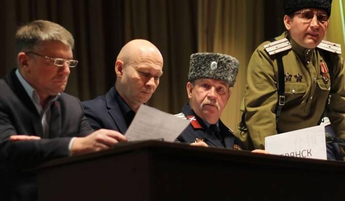 Брянский замгубернатора Коробко: 90% людей плохо отзывается о казаках
