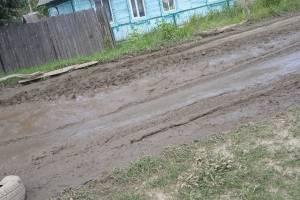 Жителям Дятьково чиновники предложили ремонтировать дорогу за свой счет
