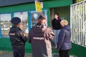 В магазинах поселка Локоть прошли облавы на безмасочников