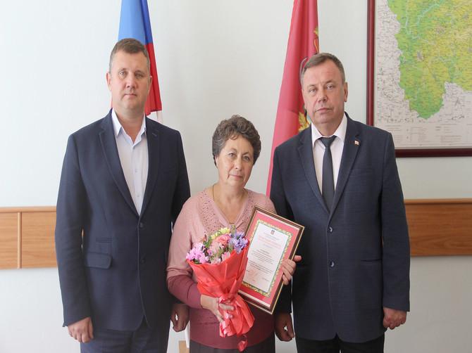 В Брянске наградили фельдшера из Суземского района