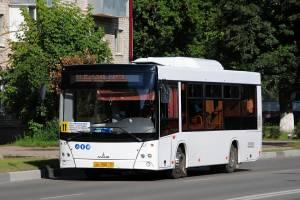 В Брянске количество автобусов № 11 увеличили в 1,5 раза
