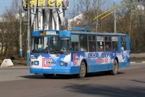 В Брянске троллейбус №6 продлили до 10-го микрорайона