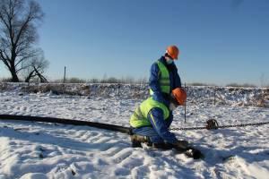 В Почепском районе завершили строительство газопровода