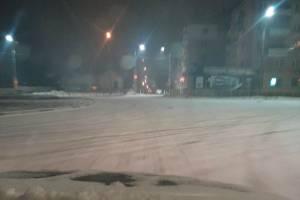 Брянских водителей предупредили о заснеженных дорогах