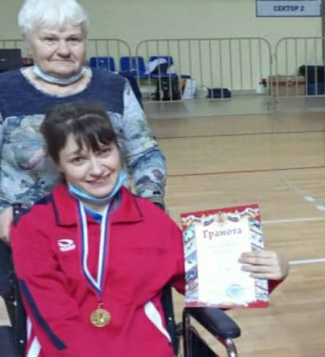 Брянская спортсменка привезла из Смоленска золото с чемпионата по бочче
