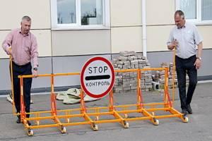 Брянские чиновники закупили противотаранные барьеры