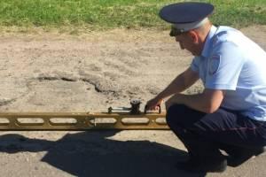 В брянском селе устранят ямы на дороге после жалобы местного жителя