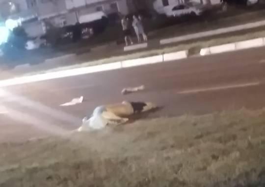 В Брянске пешехода разорвало в жутком ДТП